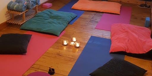 Meditate, Tea, Chat