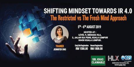 Shifting Mindset Towards Industry 4.0 tickets
