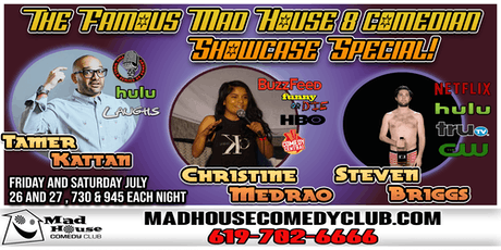 It's the Mad House Comedy Club Famous 8 Comedian Showcase Special! tickets