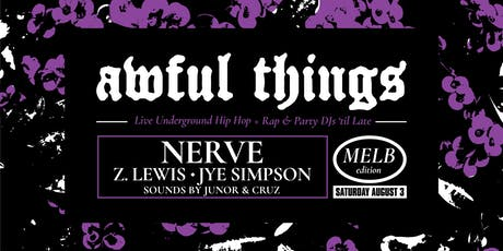 Awful Things - Melbourne tickets