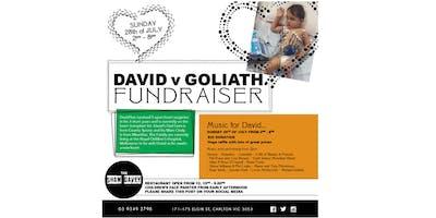 David Vs Goliath Fundriaser