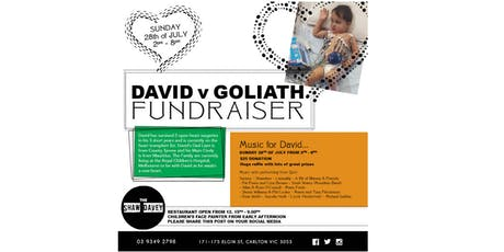 David Vs Goliath Fundriaser tickets