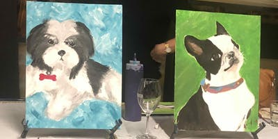 Paint your Dog - BYO Social Class for You and Your Pet in Gasworks