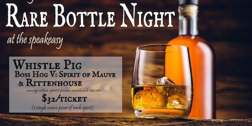 Rare Bottle Tasting - Whistle Pig Boss Hog V: Spirit of Mauve