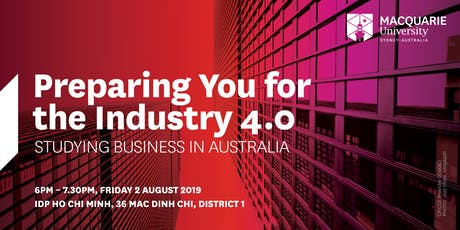 Preparing you for the Industry 4.0: Studying Business in Australia tickets