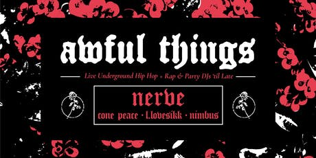 Awful Things - Sydney tickets