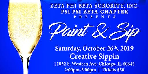 Paint and Sip Event