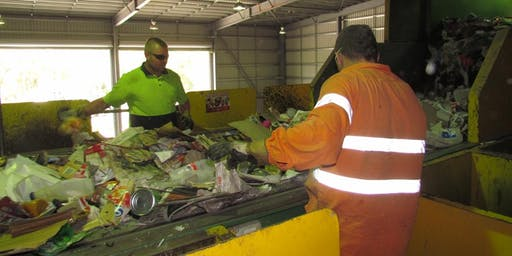 Visit the Recycling Centre - Local Government Week event