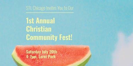 1st Annual Christian Community Fest tickets