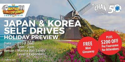 Japan & Korea Self Drives Holiday Preview