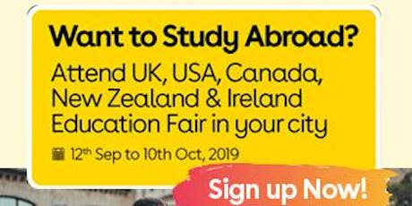 Want to Study Abroad? Attend UK, USA, Canada, New Zealand & Ireland Education Fair in Jalandhar tickets