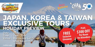 Japan, Korea & Taiwan Exclusive Tours Holiday Preview