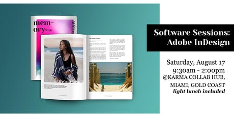 Software Sessions: Learn Adobe Indesign tickets