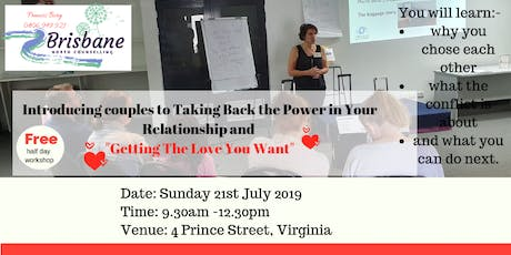 Introducing couples to Taking Back the Power in Your Relationship - with Francis Borg tickets