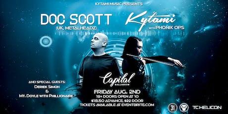 Doc Scott | Kytami tickets
