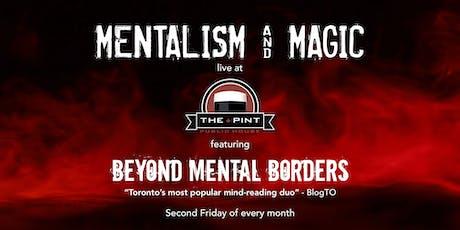 Mentalism + Magic night at The Pint tickets