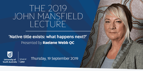 UniSA School of Law presents The 2019 John Mansfield Lecture tickets