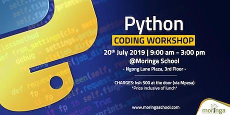 Python Coding workshop - Beginner level tickets