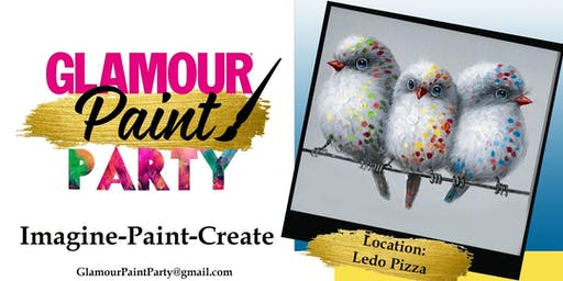 Friday Night  Paint Party Hosted By Glamour Paint Party
