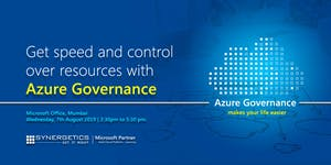 Get speed and control  over resources with  Azure Gover...
