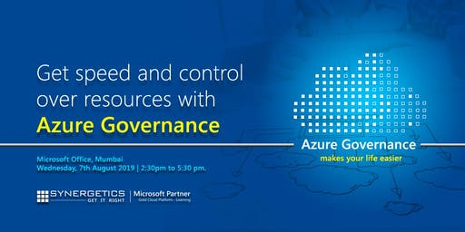 Get speed and control  over resources with  Azure Governance