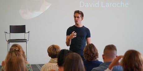 PARIS 20/08/2019 - Conférence CONFIANCE en SOI et POTENTIEL - David Laroche billets