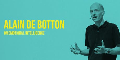 Alain de Botton on Emotional Intelligence tickets