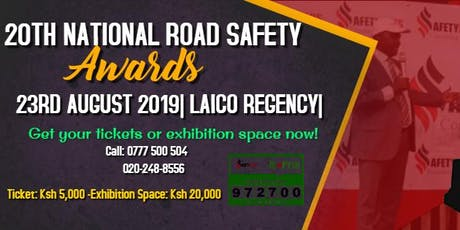 20TH ANNUAL NATIONAL ROAD SAFETY AWARDS 2019 tickets