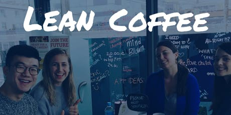 Lean Coffee July tickets