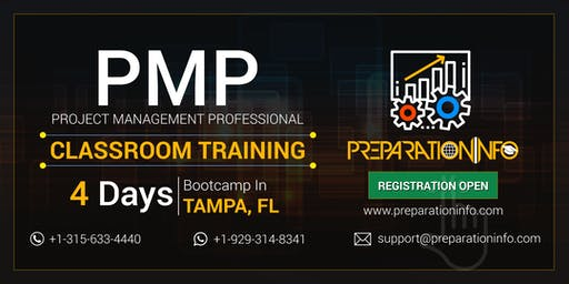 Exclusive PMP 4 Days Bootcamp Training & Certification Program in Tampa, FL