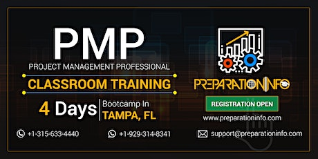 Exclusive PMP Bootcamp and Certification Training Program in Tampa, FL tickets