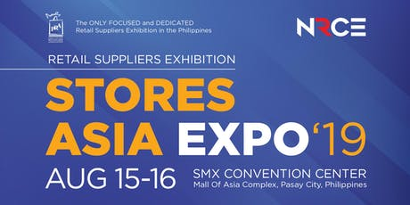 NRCE Stores Asia Expo 2019 tickets