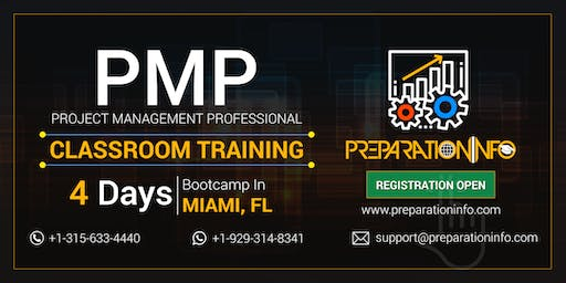 PMP Classroom Training & Certification Program in Miami, Florida
