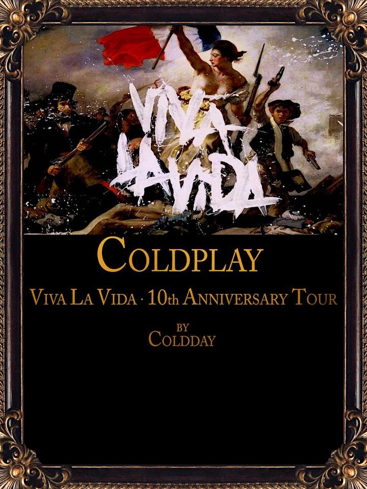 Imagen de COLDDAY, VIVA LA VIDA 10th Anniversary Tour en Madrid