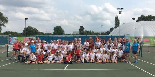 Tennis for starter teen girls - 2019 Boston Tennis Club