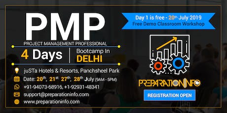 PMP Certification Training Program in Delhi  tickets