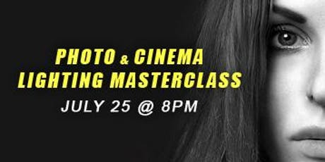Photo & Cinema Lighting Masterclass tickets