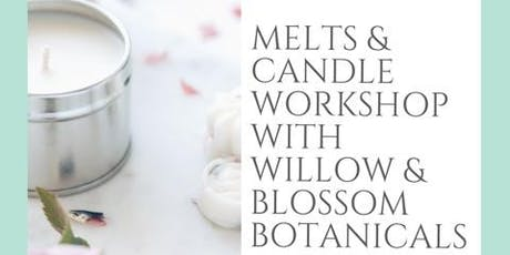 Prosecco & Botanical Candle, Melt Making Workshop  tickets