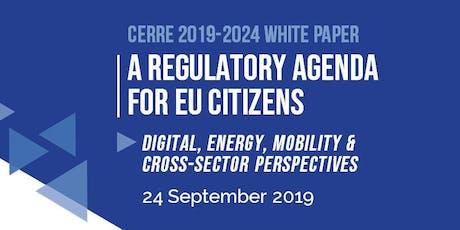 CERRE 2019 White Paper Conference billets