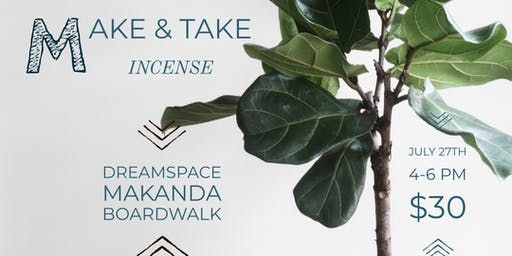 Make & Take Incense