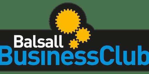 Balsall Business Club September 2019