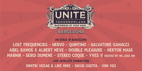 UNITE with Tomorrowland Barcelona 2019 entradas