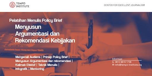 Pelatihan Menulis Rekomendasi Kebijakan/Policy Brief (berbayar)