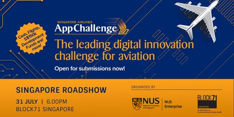 SIA AppChallenge 2019: Singapore Roadshow tickets