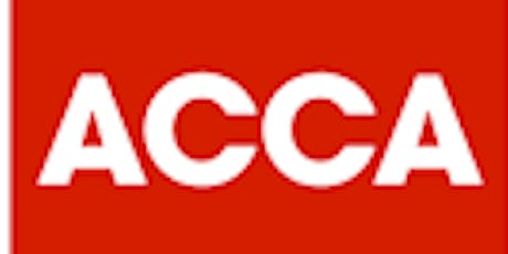 ACCA Applied Skills (SCBE) Demonstration - Online Session tickets