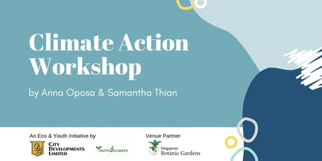 Youth4Climate Workshop by Anna Oposa & Samantha Thian tickets