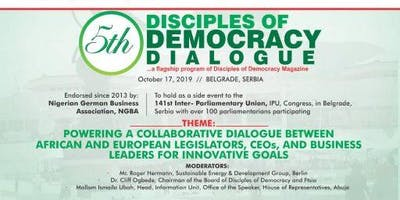 5th DISCIPLES OF DEMOCRACY DIALOGUE