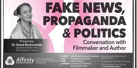 Fake News, Propaganda and Politics tickets