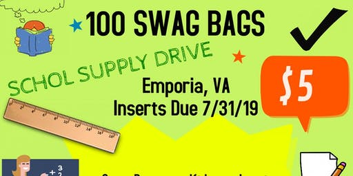 Swag Bag Vendors Wanted