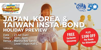 Japan, Korea & Taiwan Insta-Bond Holiday Preview